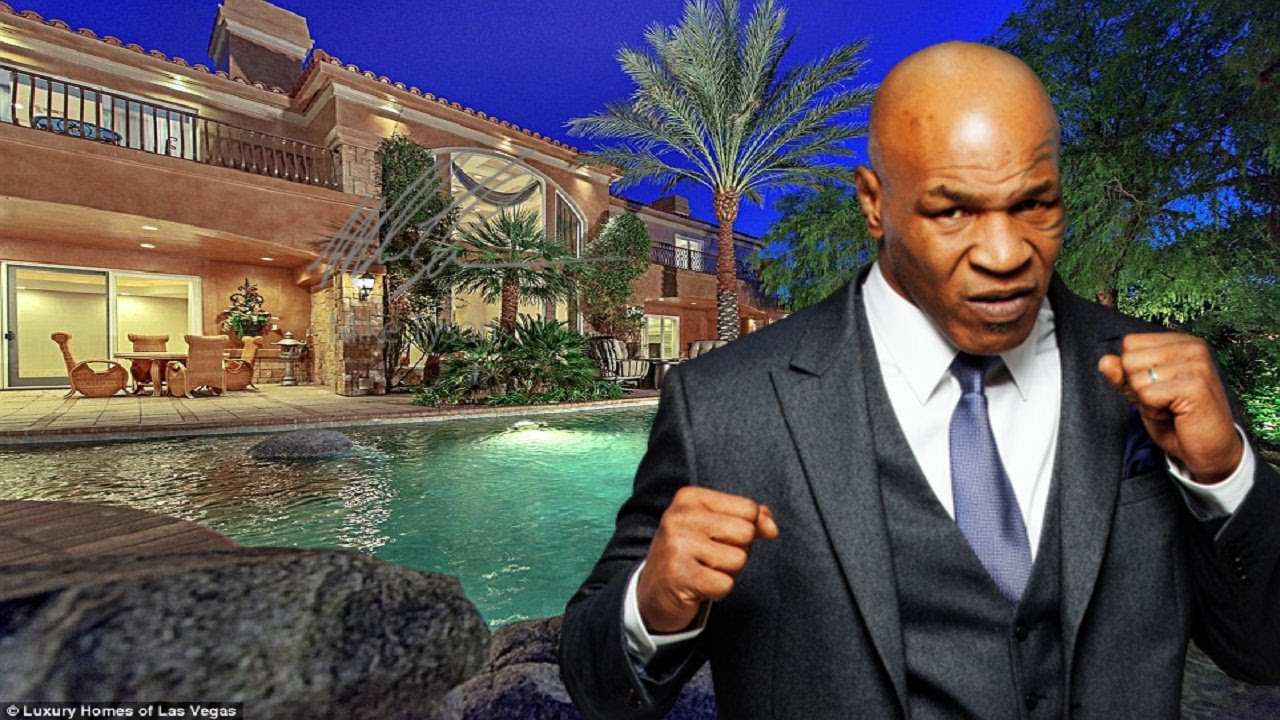 Mike Tyson House 2017 - YouTube