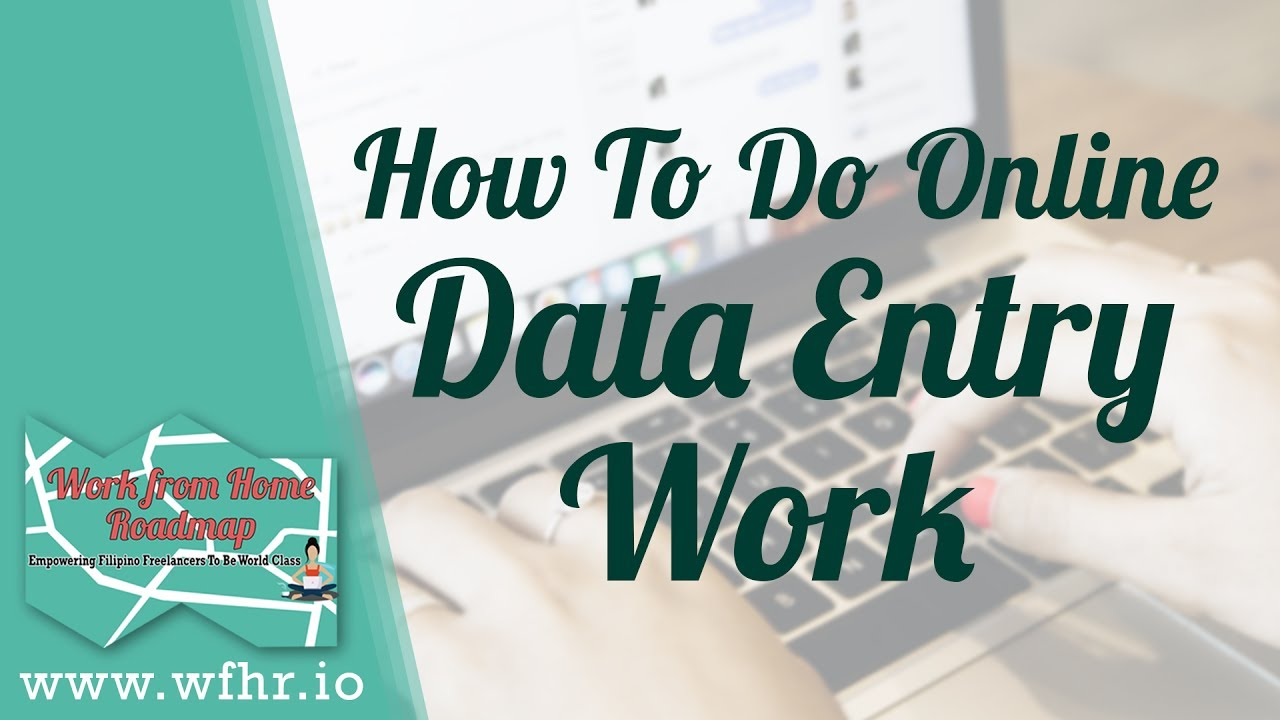 How To Do Online Data Entry Work Jason Dulay Youtube
