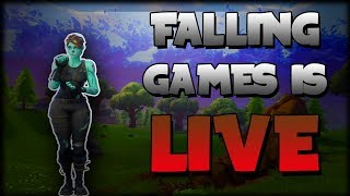 🔴 Falling Games | Playing with Viewers | Fortnite 🔴