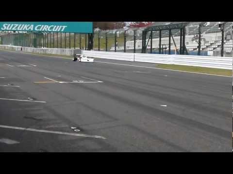 2012フォーミュラニッポン第7戦 F2 F3000マシンデモラン #2  F2 F3000  Extreme sound