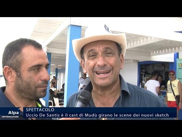 Speciale Uccio De Santis. A Castellammare per le nuove scene dei suoi video