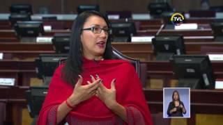 TVL Noticias - Entrevista: Verónica Salgado, Secret. de Comunicación Asamblea Nacional   13-01-2017