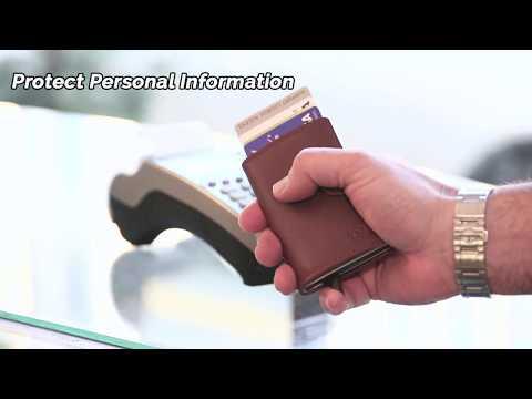 Card Blocr RFID Blocking Credit Card Holder & Slim Front Pocket Wallet - Minimalist Design