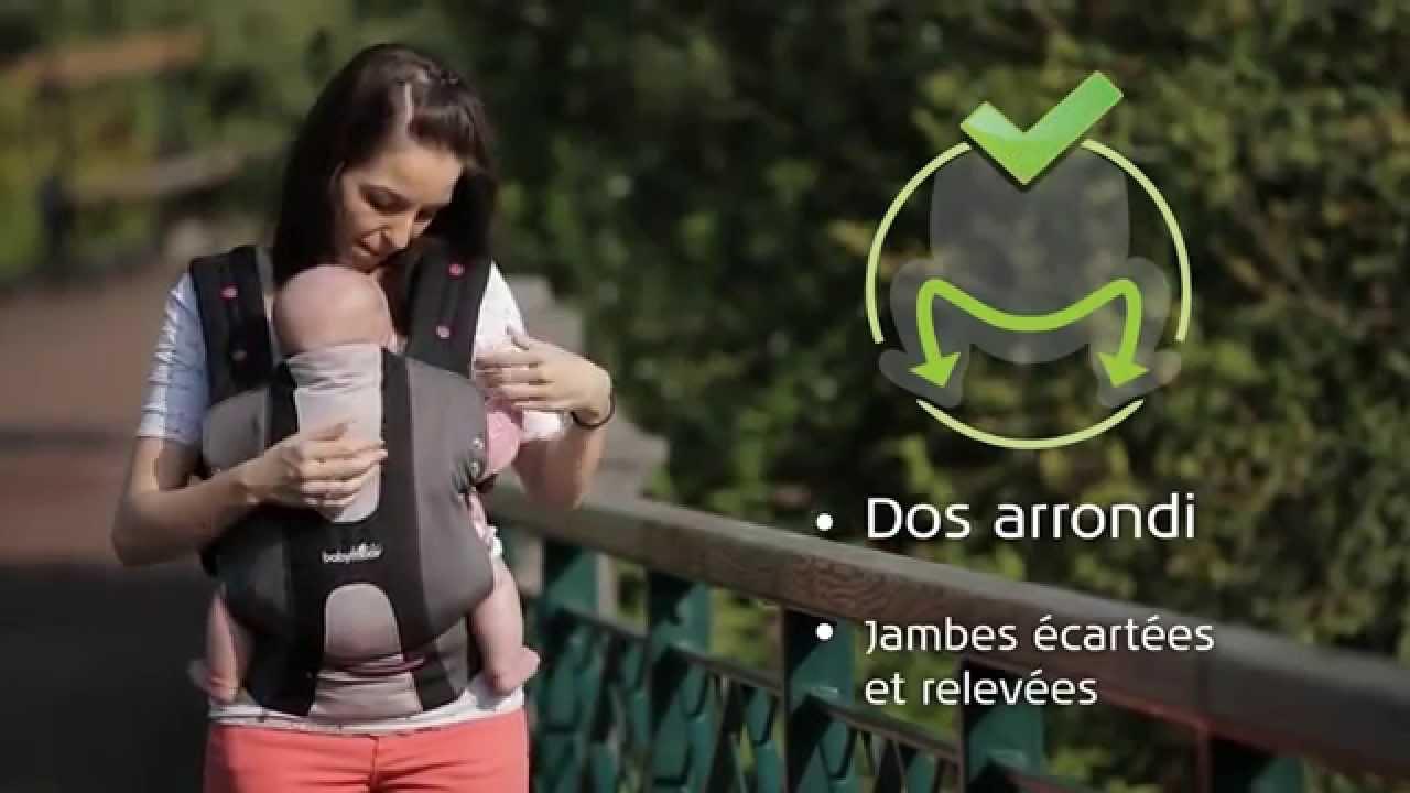 Oclio - Porte bébé physiologique de Babymoov - YouTube 11764119f32