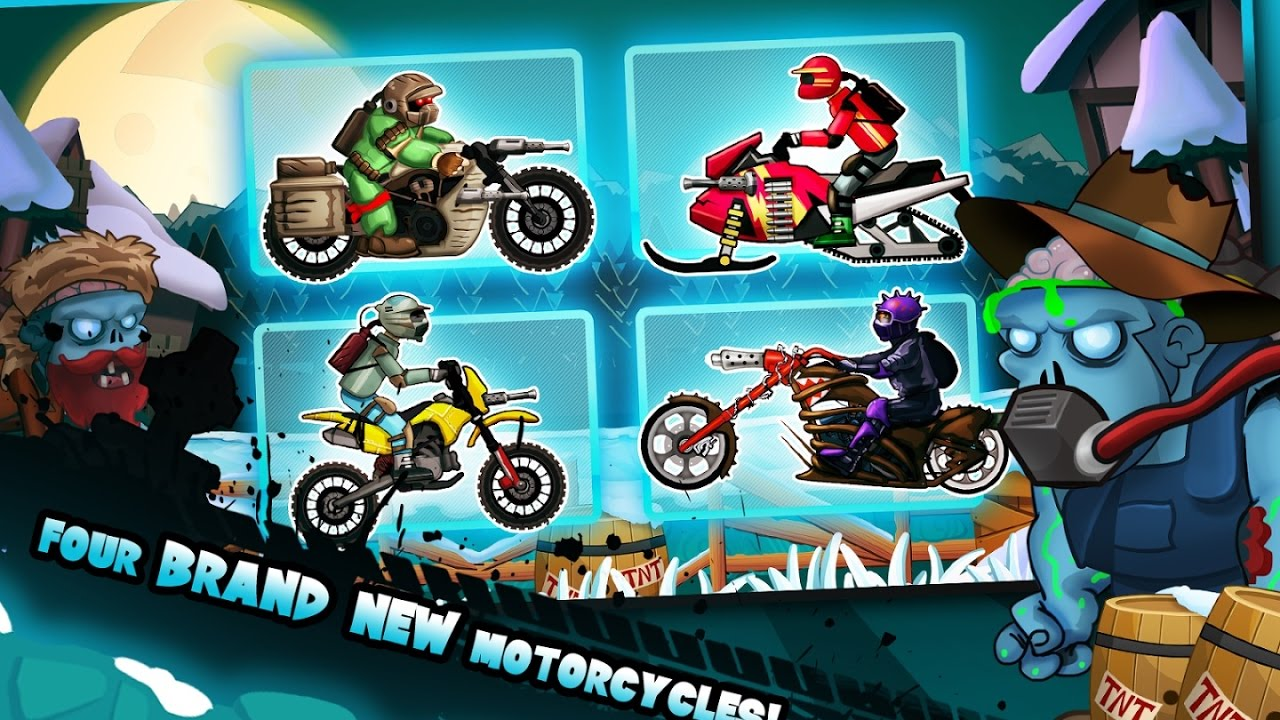 motorcycle shooting game  Zombie Shooter Motorcycle Race - Racing Action - Videos Games for ...