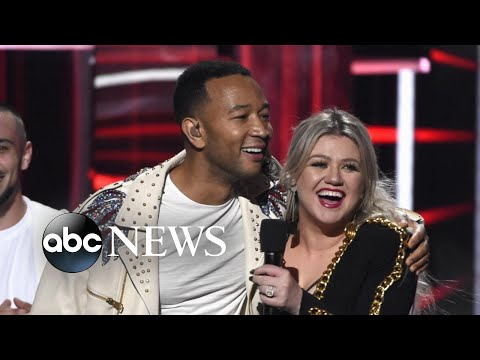 Legend, Clarkson Criticized For New 'Baby, It's Cold Outside' | ABC News