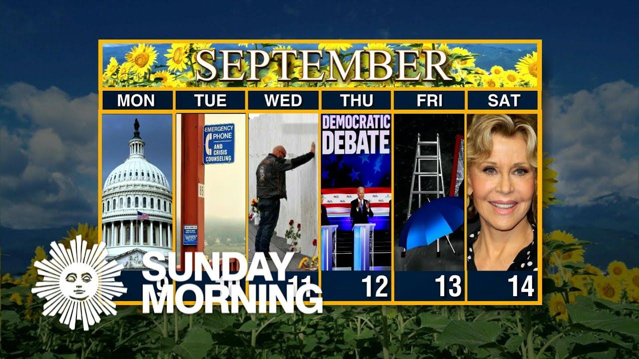 Calendar: Week of September 9