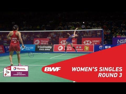 WS | Ratchanok INTANON (THA) [4] vs Saina NEHWAL (IND) [10] | BWF 2018
