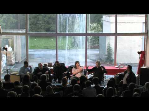 """panel discussion """"the politics of digital architecture"""" @ University of Innsbruck 2012"""
