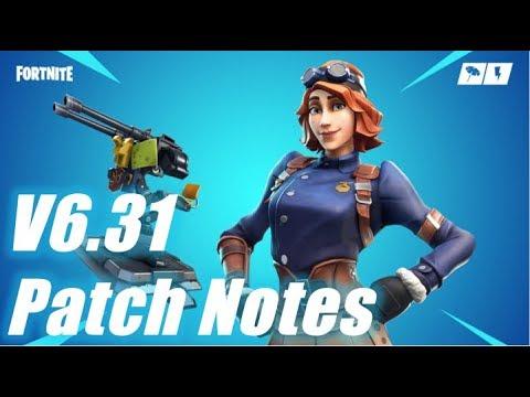 V6.31 Patch Notes, HUGE UPDATE / Fortnite Save The World