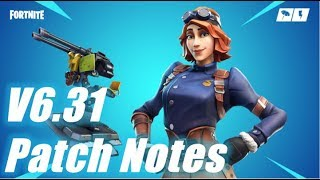 V6.31 Patch Notes, HUGE UPDATE / Fortnite Save the World