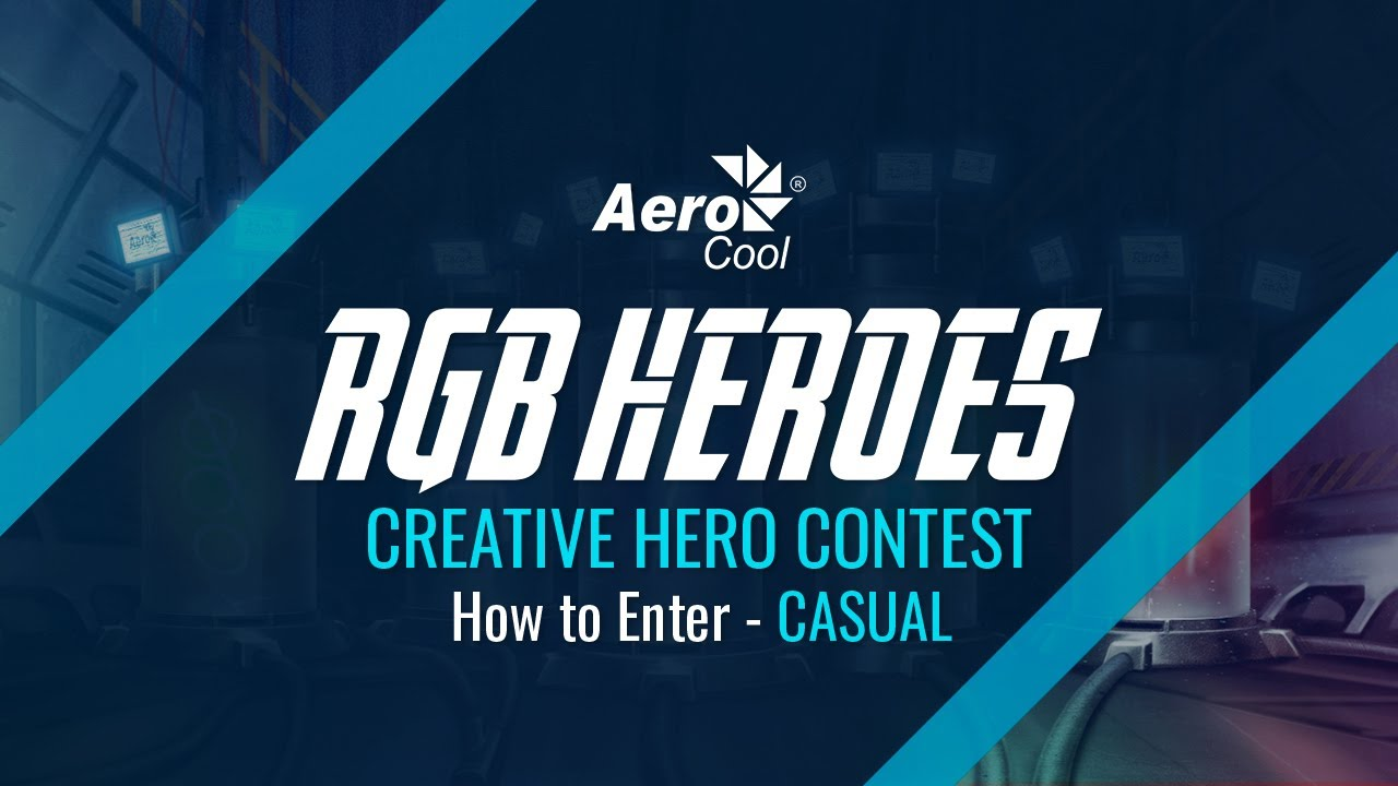 RGB HEROES Globe – Be Cool  Be AeroCool