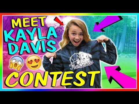 😍 MEET KAYLA CONTEST 😍   We Are The Davises