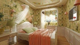 видео спальня в стиле прованс