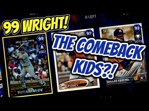 99 DAVID WRIGHT STARTS THE COMEBACK!! MLB The Show 17 Battle Royale