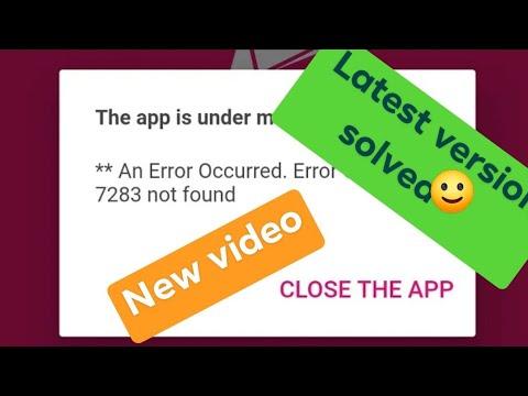 New video New version Bkash app problem solved Error code 7283 solved app is under maintenance ☺️☺️