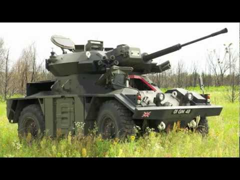 British Fox recon tank.