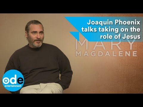Mary Magdalene: Joaquin Phoenix talks taking on the role of Jesus