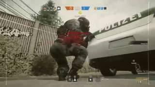 Rainbow Six Siege Shock Drone Confusion Trolling - Confusing Teammates!