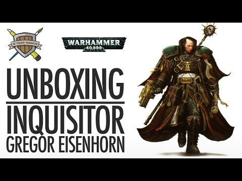 Unboxing: Inquisitor Gregor Eisenhorn Black Library Exclusive