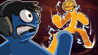THE NOGLA SHOWDOWN!! - Stick Fight Funny Moments