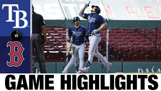 Rays smash four home runs to beat Red Sox | 8/12/20