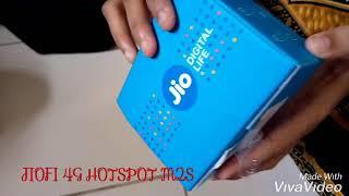 JIOFI 4G HOTSPOT M2S UNBOXING REVIEW