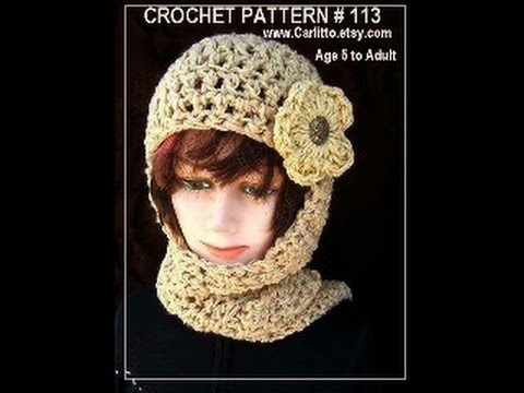 Carlitto hat pattern 113 free demo of pattern link to free video carlitto hat pattern 113 free demo of pattern link to free video scoodie hoodie dt1010fo
