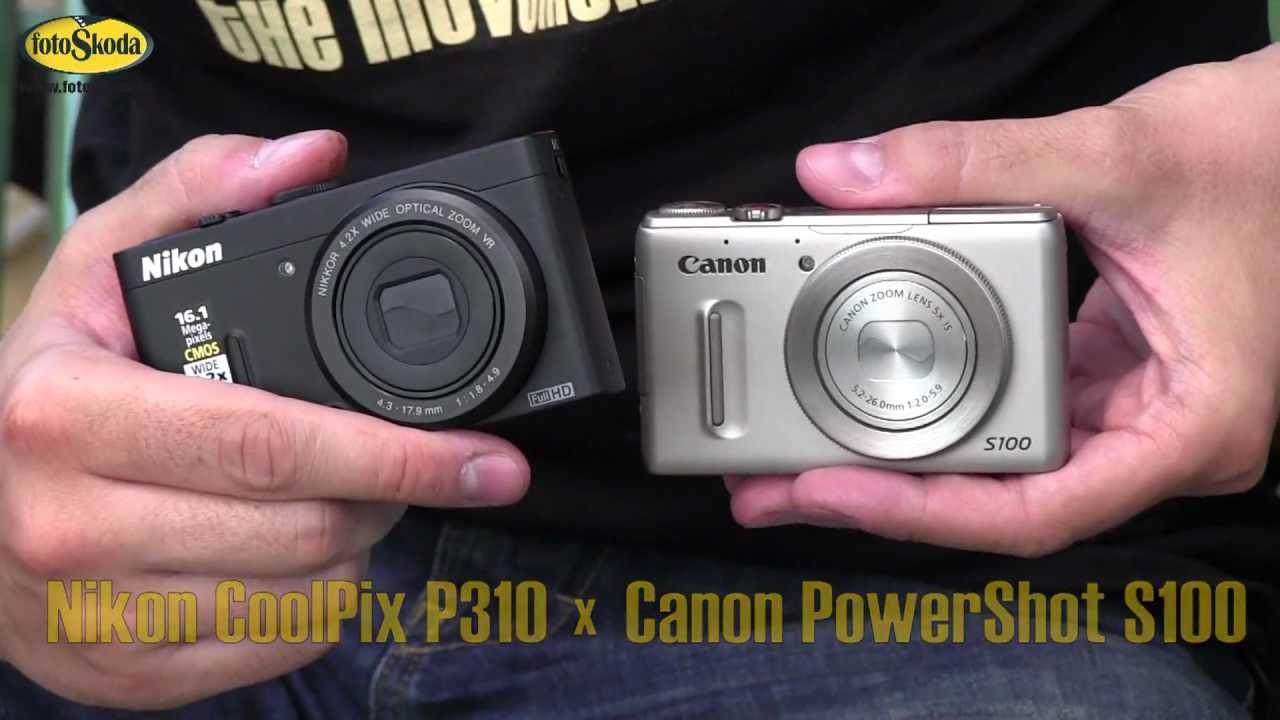 canon powershot s100 vs nikon coolpix p310 youtube rh youtube com Canon 3 3 Poweshot Canon PowerShot S100 Drivers