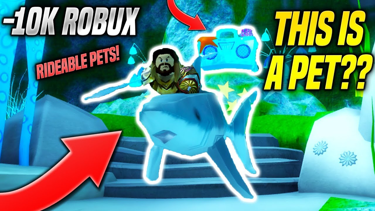 Omg I Bought Everything In The Aquaman Event Game And This Pet