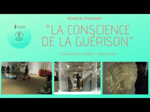 """Séance - Concert : """"la conscience de la guérison"""" - Gong - Bols de cristal - Kigonki - Tambours"""