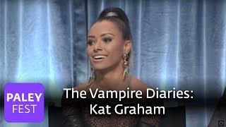 The Vampire Diaries - Kat Graham on Her Character's Love Life