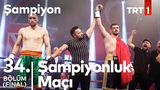 Kafkas & McVardy Boks Maçı | Şampiyon 34. Bölüm (Final)