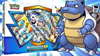 Pokemon Cards - EARLY Blastoise EX Red and Blue Collection Box Opening Battle!