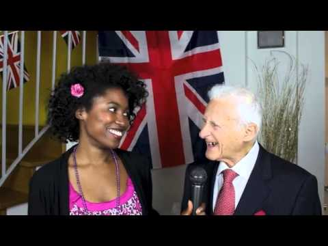 Bernard Skibben (winner of the first ever UKares Inspiration Award) at UKares launch