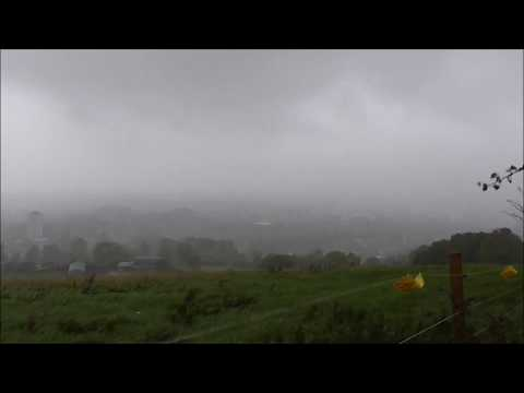 Wet, windy, misty, cold N Ireland Weather,- not nice for tourists