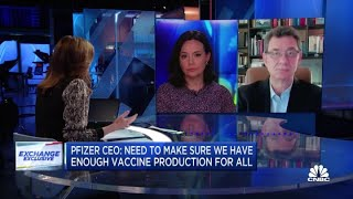 Pfizer CEO: No variant identified so far can escape our vaccine protection