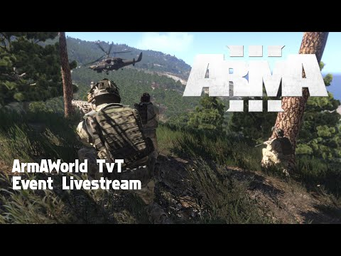 ArmAWorld Coopetition #004 - Live kommentiertes ArmA3 TvT Event