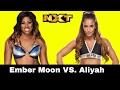 WWE NXT 2017.02.01 Aliyah vs Ember Moon