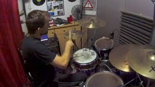 Dave Gone Skiing - Toto  Drum Cover