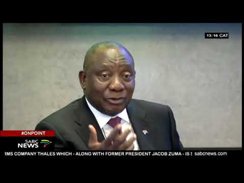 A Brief Look At Pres Ramaphosa's Term In Office
