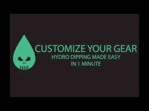 How To Hydro Dip in e Minute The Hydro Dip Store