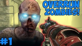 """IS THIS BLACK OPS 1 CUSTOM ZOMBIES?!"" - Custom Zombies ""OVERRUN"" #1 (CoD WaW Custom Zombies)"