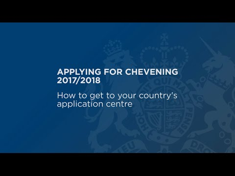 How to get to your Chevening application centre