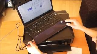 Canon Pixma Drucker installieren und im WLAN einbinden