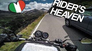 riding the AMAZING Passo di GAVIA [RAW Onboard]
