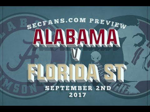 Alabama vs Florida State - Preview & Predictions 2017