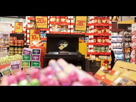Mondelez Green&Blacks In Bilka Using Magic-as-a-Service