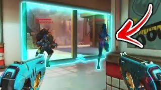 Tracer Went Into The ENEMY Base!!? - Overwatch Craziest Bugs