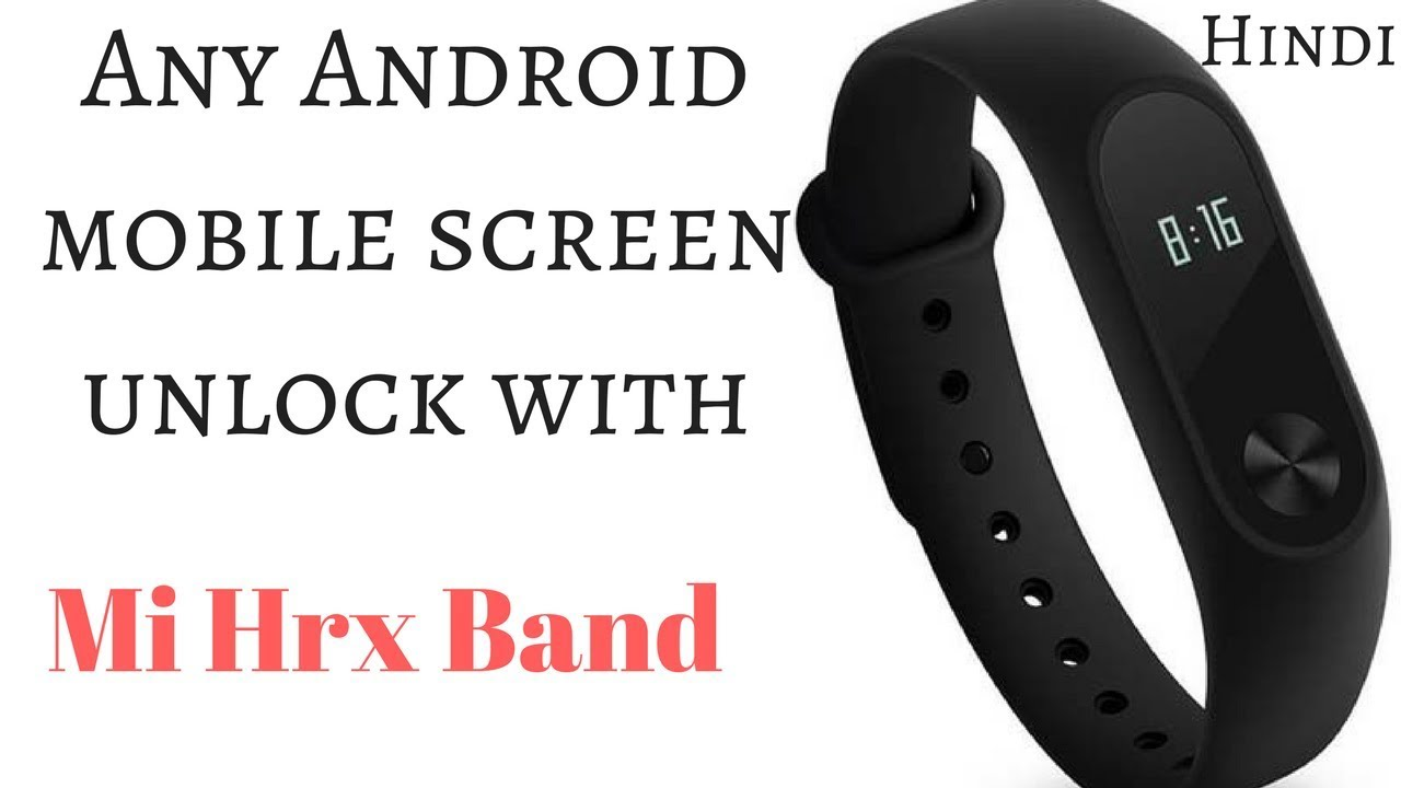 How To Setup Screen Lock on Any Android Mobile With Mi band